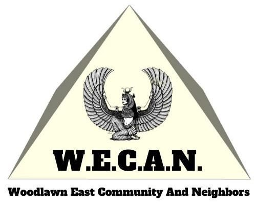 Logo for Woodlawn East Community and Neighbors